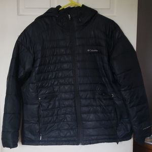 Columbia hooded down winter coat